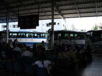 パタヤのバスターミナル
