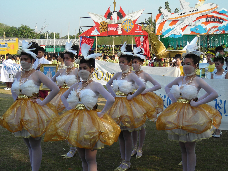 タイの高校の運動大会③