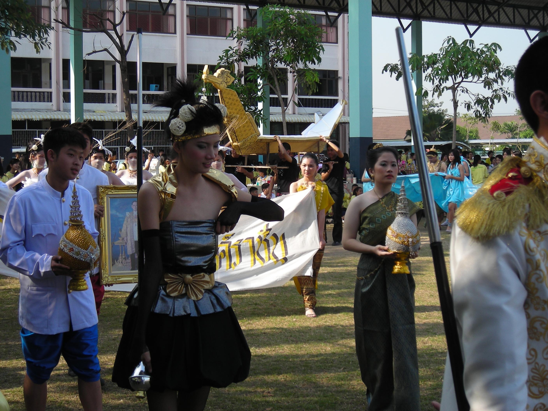 タイの高校の運動大会⑩