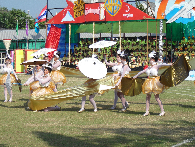 タイの高校の運動大会⑫