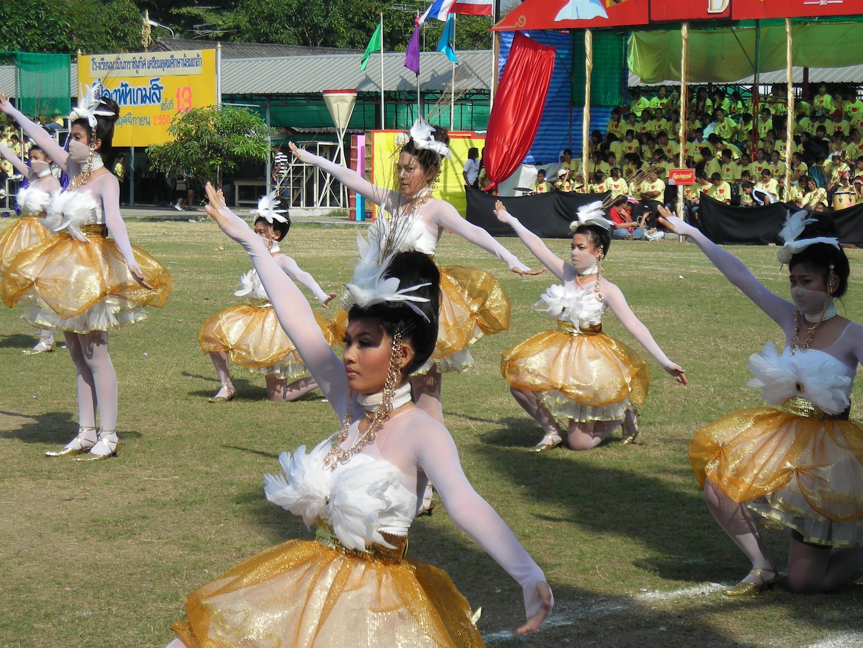 タイの高校の運動大会⑪