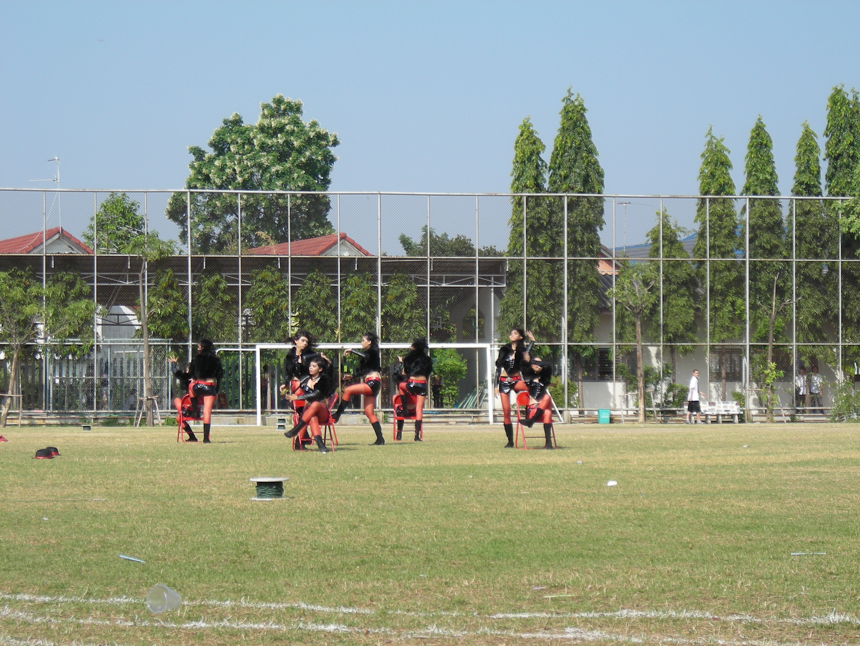 タイの高校の運動大会⑬