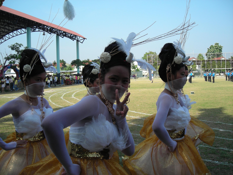 タイの高校の運動大会⑮