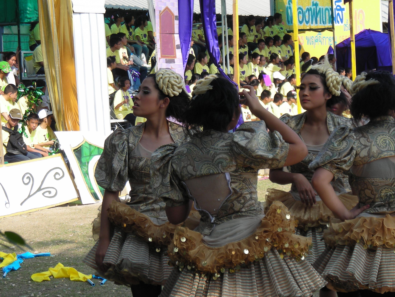タイの高校の運動会⑯