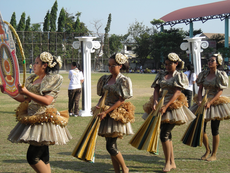 タイの高校の運動会⑱