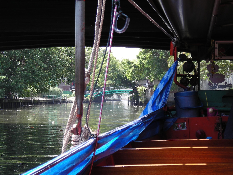 運河ボート乗り場