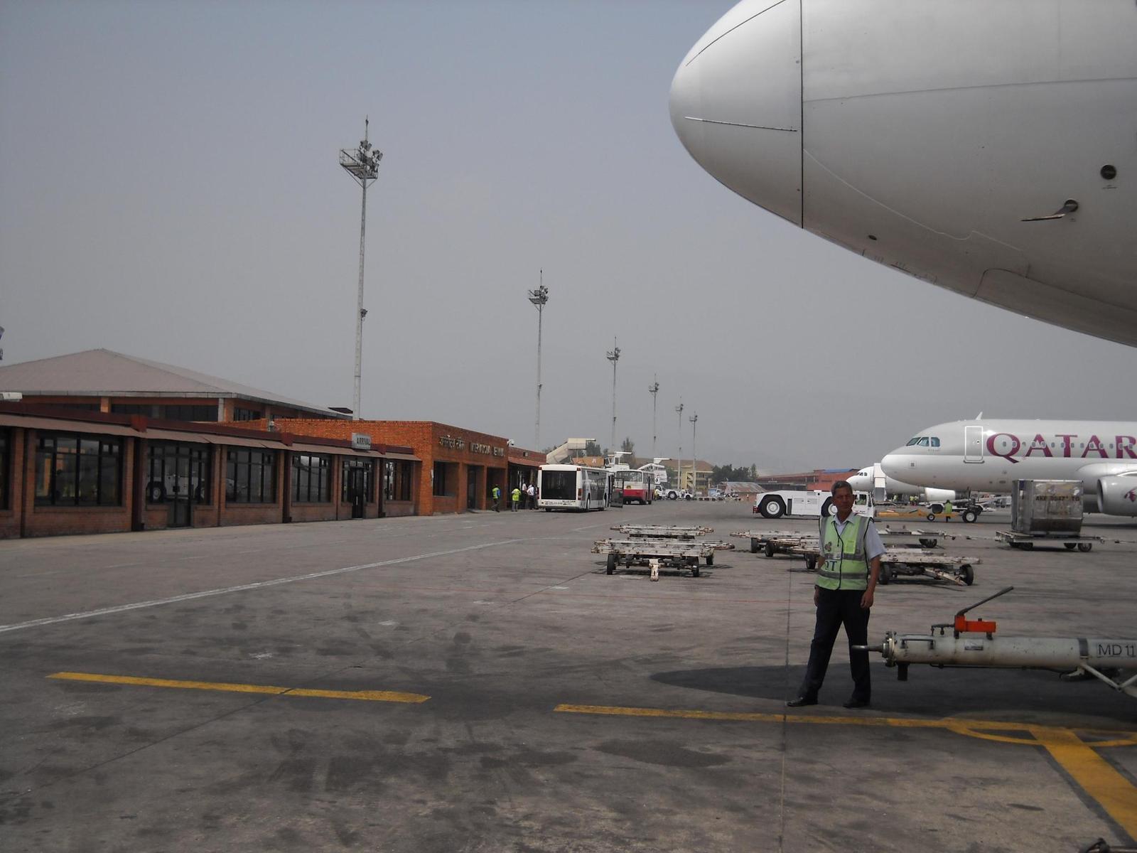 ネパールトリブヴァン国際空港