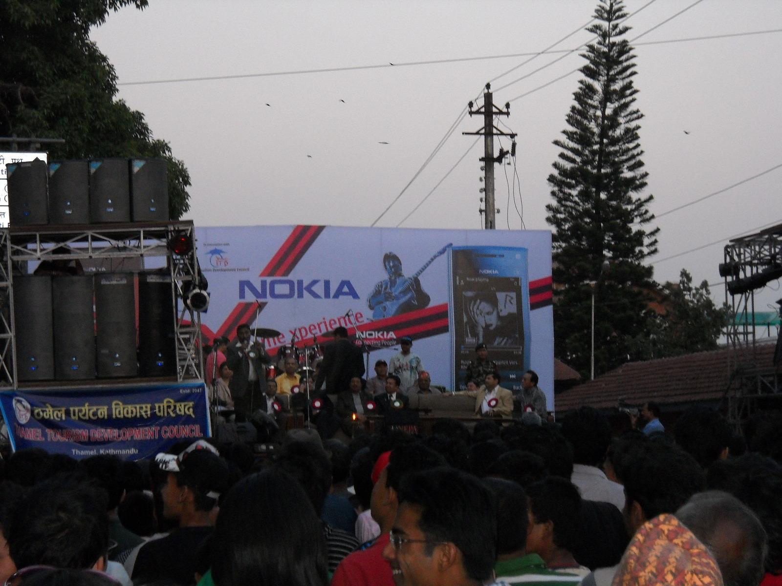 ネパール新年のイベント