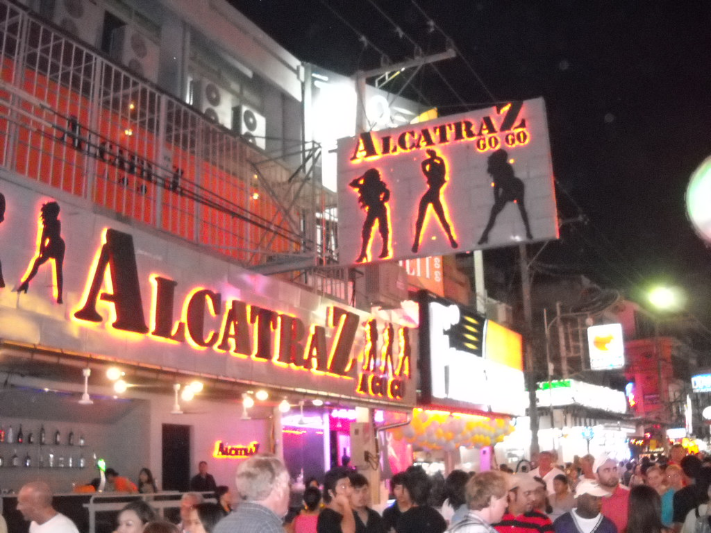 ALCATRAZ GO GO