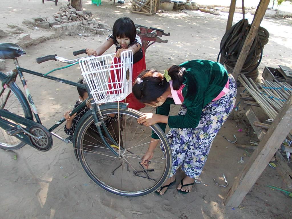 ミャンマーの女神達