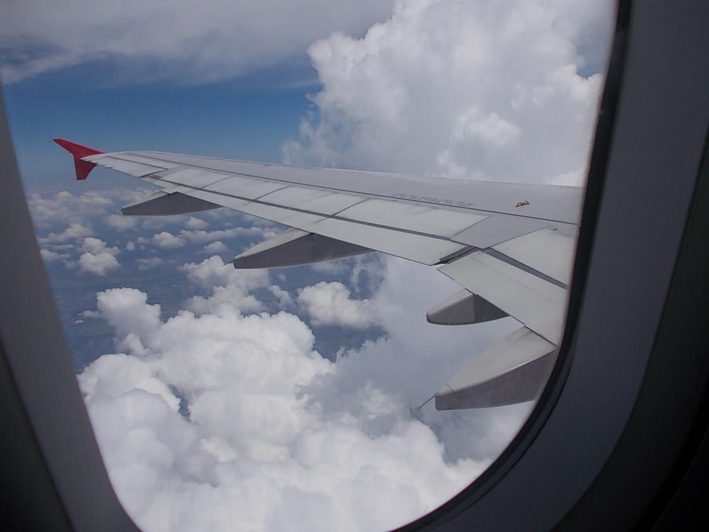 ウドンタニー上空(エアアジア)