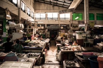 シラチャの朝市場