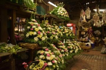 バンコク花市場