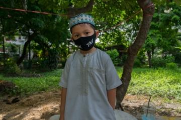 ムスリムの少年