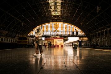 フワランポーン駅の構内